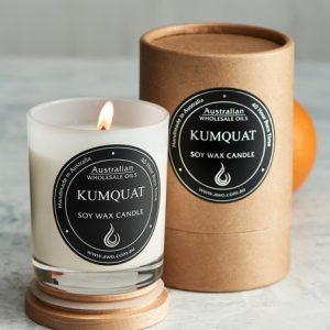 kumquat candle